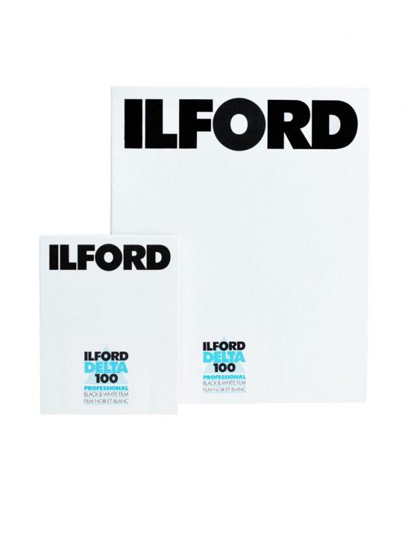 Ilford Delta 100 102 x 127mm 25 Sheets