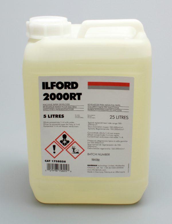 Ilford 2000 RT Developer/Replenisher (Dilu.1+4) 5 Litres
