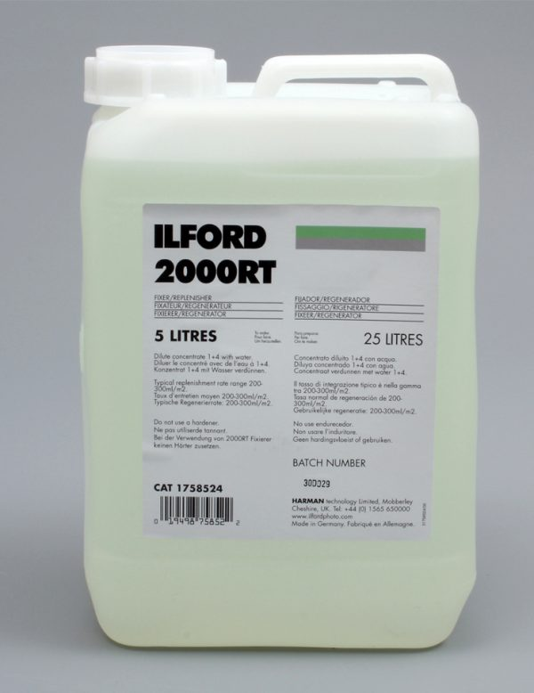 Ilford 2000 RT Fixer (Dilution 1+4) 5 Litres